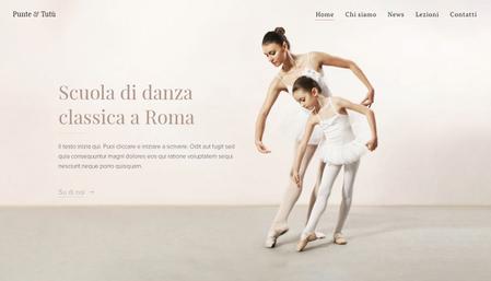 Modello - Scuola di danza