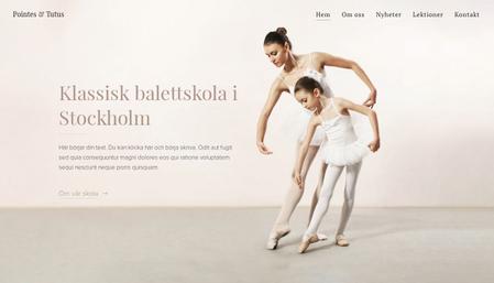 Balettskola mall